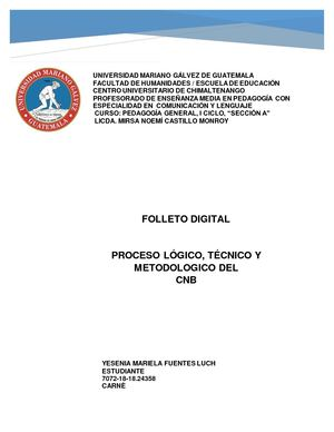 Folleto Digital Cnb