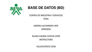 Base De Datos (Bd)aay