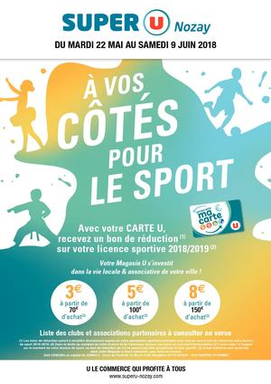2018 Licences Sportives Affiche Accueil A4 Nozay Exe