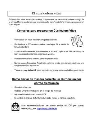 curriculum vitae se escribe con mayuscula