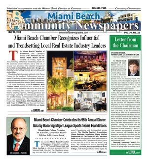 Miami Beach News 5.28.2018