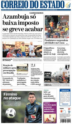 Correio Do Estado Capa