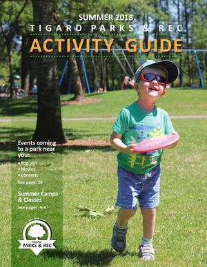 2018 Summer Activity Guide