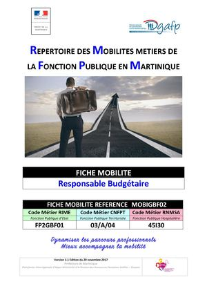 Fiche Mobilite Mobigbf02 Responsable Budgetaire