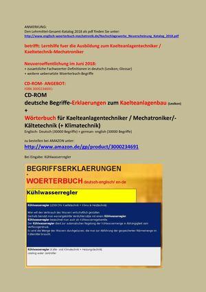 Calaméo Deutsch Englisch Uebersetzung Leseprobe Kaelteanlagenbau