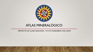 Atlas Mineralógico Civil