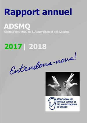 Rapport Annuel 2017 2018 Final