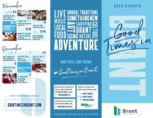 2018 County of Brant Events Brochure