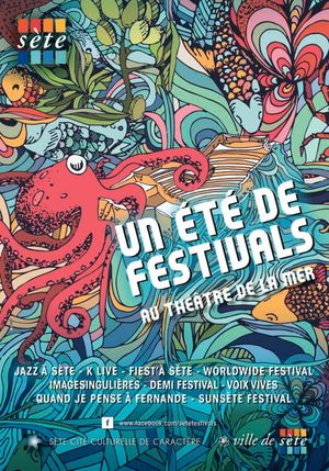 Guide Festivals Sète 2018