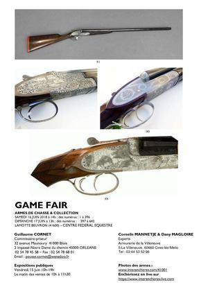 e3919a654548ce Calaméo - Game Fair - Catalogue de la vente aux enchères