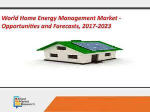 World Home Energy Management Market - Opportunities and Forecasts, 2017-2023