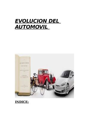 Evolucion Del Automovil