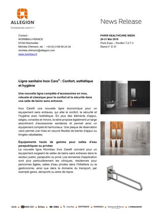 News Normbau Inox Care_ FR