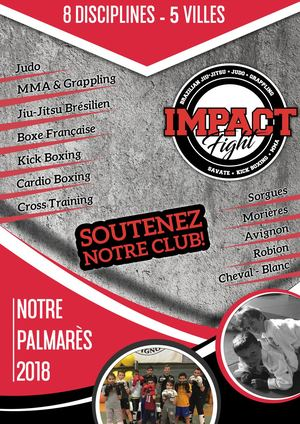 impact Fight Palmarès 2017-18