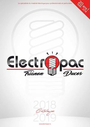 Catalogue Electropac 2018