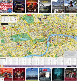 WHERE London German Map 2018-19