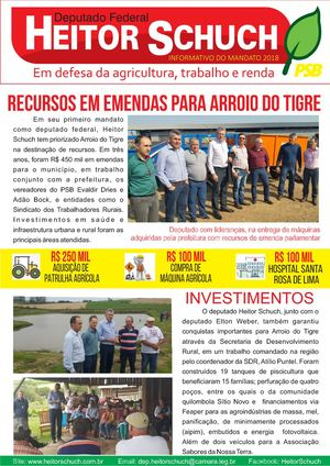 Informativo 2017 | Arroio do Tigre