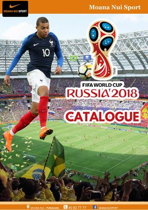 Catalogue Nike Fifa World Cup Russia 2018
