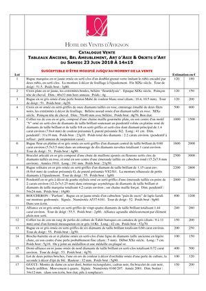 Tableaux Anciens, Objets d  Art, Art d  Asie   Bel Ameublement 23-06-2018    14h15 af7f219ecbd