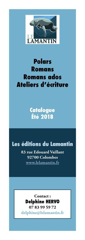 Catalogue Lamantin été 2018