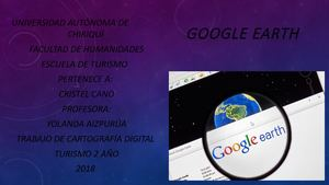 Google Earth Cristel Cano