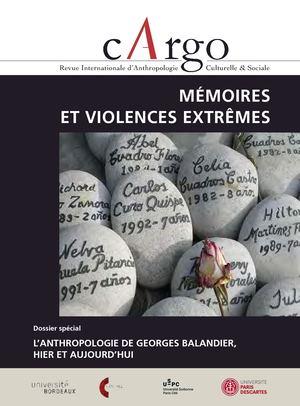Calaméo - cArgo 6-7   Mémoires et violences extrêmes   Balandier d64ddd892c8