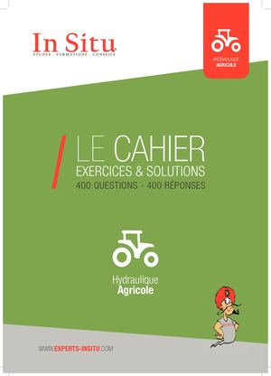 Cahier d'exercice - Hydraulique Agricole