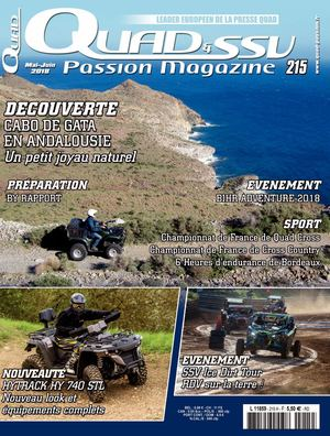 Quad et SSV Passion Magazine N°215
