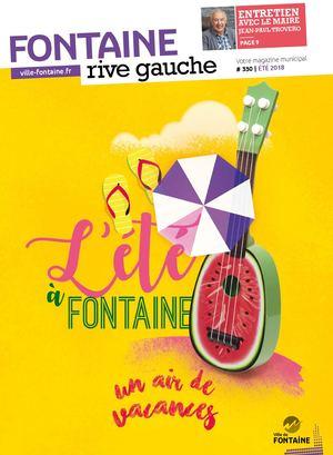 Fontaine Rive Gauche 330 éTé 2018