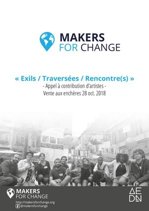 Contribution d'artistes Makers For Change