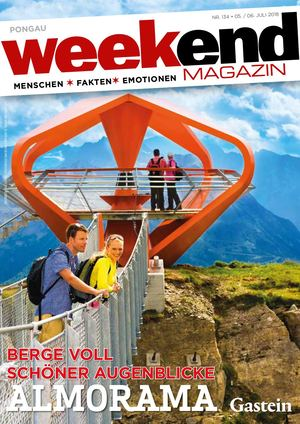 Weekend Magazin Pongau Juli 2018 Nr 134