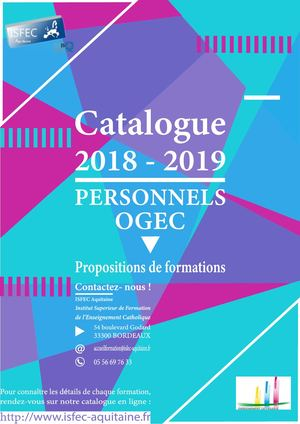 Catalogue Ogec 2018 2019 Interactif