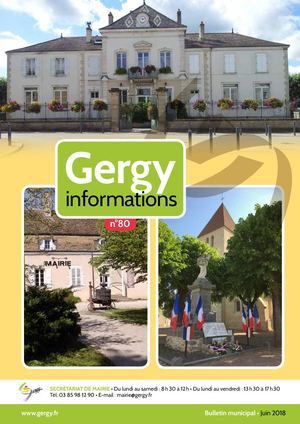 Gergy Informations n° 80