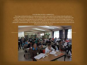 Taller Psicologia Ambiental