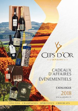 Les Ceps D'or Catalogue 2018