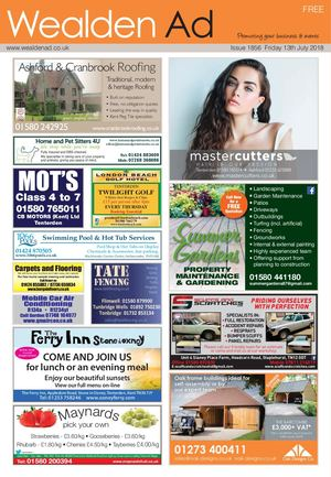 Wealden Ad 13/7/2018