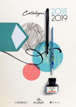 Le catalogue G. Lalo J.Herbin 2018 - 2019