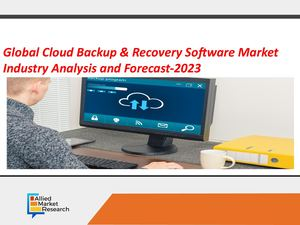 Cloud Backup & Recovery Software Market