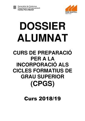 Dossier Cpgs 18 19