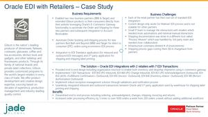 Oracle EDI Integrations With Retailer Case Study
