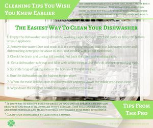 Cleaning Tips You Wish You Knew Earlier Dishwasher