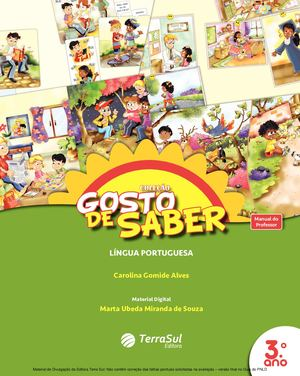 1fb520bc38 Calaméo - Coleção Gosto de Saber - Língua Portuguesa - Volume 3º ano ...