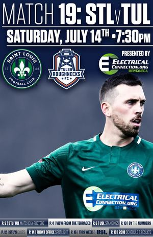 Saint Louis Football Club VS Tulsa Roughnecks Football Club