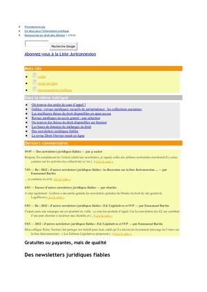 Newsletters Juridiques Fiables Blog Docx