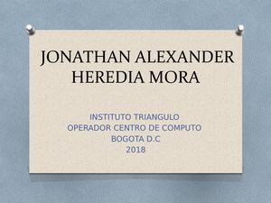 Jonathan Heredia Matrices