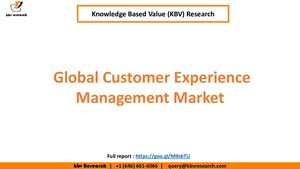 Global Customer Experience Management Market