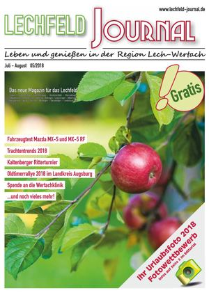Lechfeld-Journal Juli-August 2018