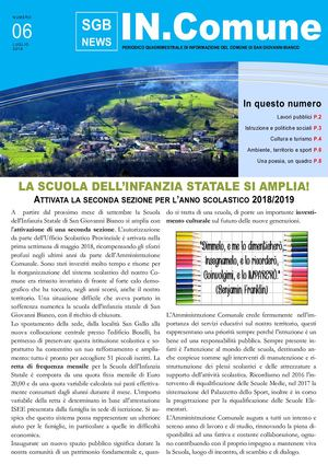 IN.Comune - SGB NEWS (N.06)