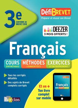Calameo Defi Brevet Francais 3eme