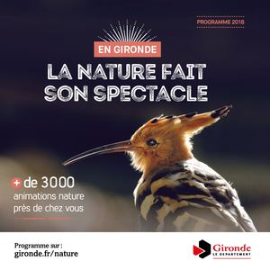 La nature fait son spectacle 2018
